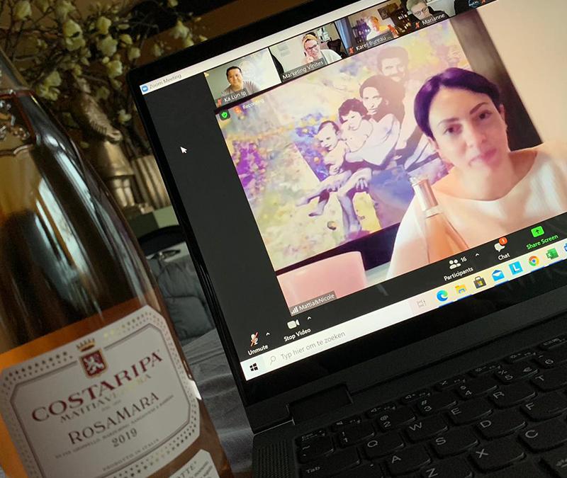 Vinites online wijnproeverij